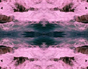 Biophilia Pink Waves