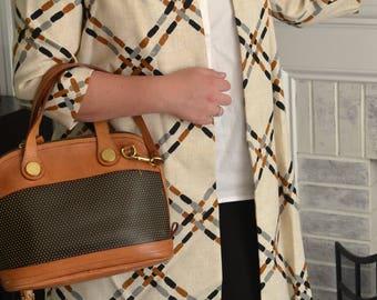 Handmade Vintage plaid Jacket