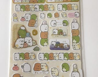 Cute Molang Rabbit Diary Stickers Decoration Stationery Label Sticker - Design 2