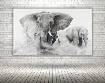 Stunning Elephant Photo Print