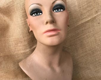 1960's Dream Queen Mannequin Bust