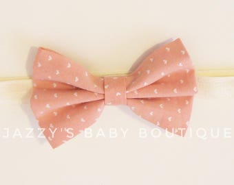 Printed Baby Bow