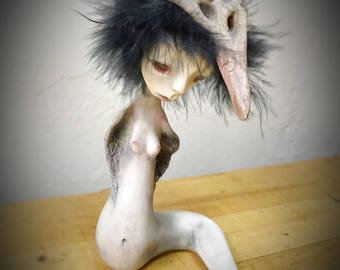 Ooak art doll: Icarus