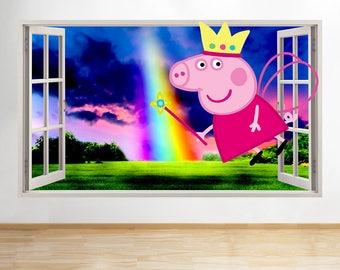 Peppa Pig Room Decor Etsy