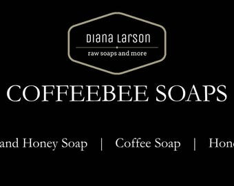 Coffebee Soaps by Diana Larson Products