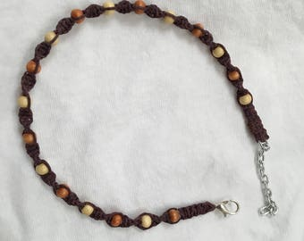 Earth Tone Anklet