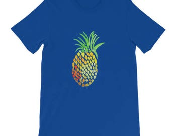 Holla Back Co. Royal Blue Pineapple T-Shirt