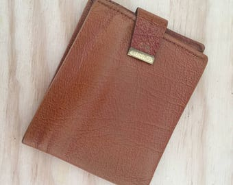 Vintage Buxton Leather Wallet/ Vintage Wallet/ Men's Wallet/ Retro Wallet/ Buxton Wallet