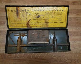 Vintage Garlock Gasket Making Kit Garlock Gasket Cutter
