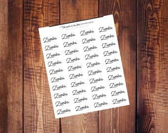Zumba || 40 stickers