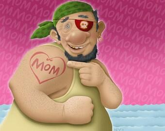Momma's Boy (print)