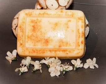 Shea Butter Exfoliating Soap - Beachfront Daisies