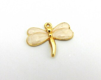 Dragonfly Pendant Charm, Dragonfly Charm, Insect Charm, Dragonfly Jewellery Supplies. 1pc Charm