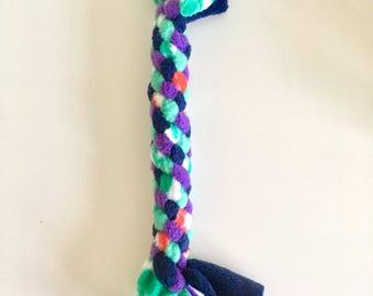 """Fleece Dog Tug Toy (8-9"""")"""