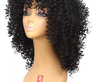Luxurious soft kinky hair
