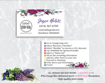 YL Business Card, Custom YL Business Card, Custom Business Card, YLEO Marketing - Printable Business Card - Personalized Card YL21