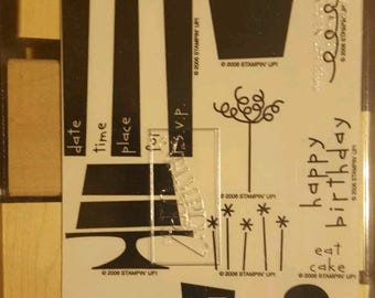 Let's Eat Cake Stampin Up Set