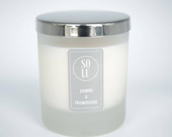 Jasmine & Frankincense Soy Wax Candle