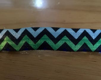 Set of 3 Gorgeous Handmade Chevron Barrettes