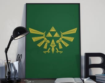 Zelda printable etsy for Decoration zelda