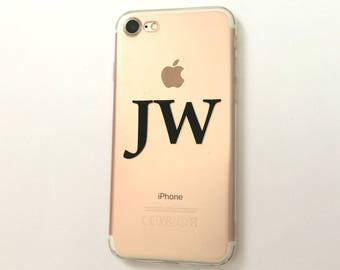 Custom Initial Phone Case for iPhone