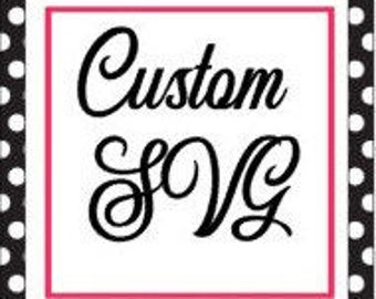 Custom SVG/DXF/PNG