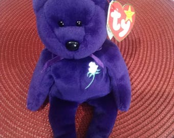 Princess Diana Bear 1997 TY Original Private Collection