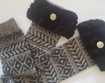 Vintage Crochet Leg Warmers