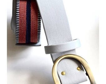 Ceinture Zoulay grise