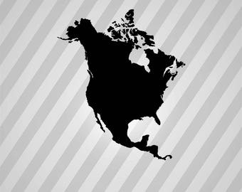 American map svg Etsy