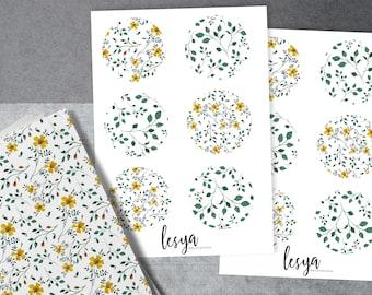 Circles - Floral