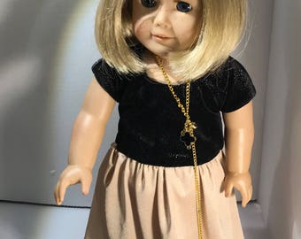 ball gown for 18 inch doll ie American Girl or Maplelea