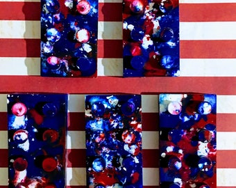 4th of July party, patriotic party favors, party 4th of July , lego party favors, kids party favor, party favors for kids, crayon favor