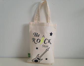 Tote bag for kids Be a rock star