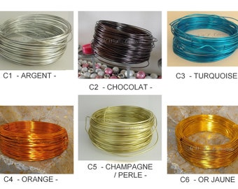 wire aluminum 2mm X 60 meters