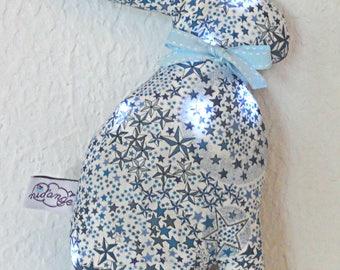 Nightlight Bunny Liberty Adelajda blue in STOCK