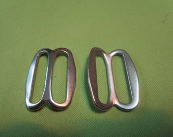 from metal silver double ring