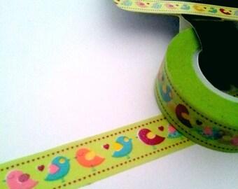 Roll masking tape birds - 15 meters T4