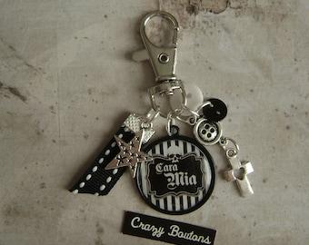 Addams Family keychain