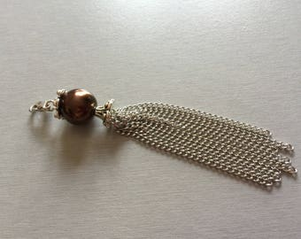 Brown Pearl pendant