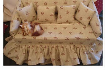 Sofa for tissue paper pattern boxes