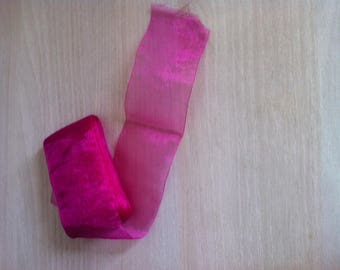 Hot pink organza Ribbon