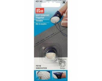 Thimble ergonomic (M) silicone Prym