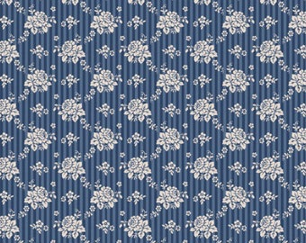 Emily dark blue Tilda fabric