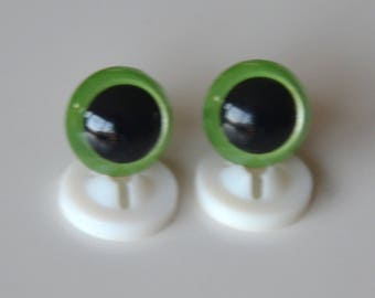 EYES secure 12mm light green for toy or stuffed animal