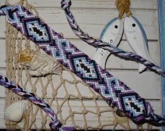 """Friendship Bracelet """"classic"""" earthen colors"""