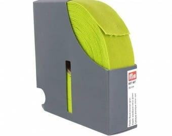 belt 38 mm x 50 cm lemon color elastic