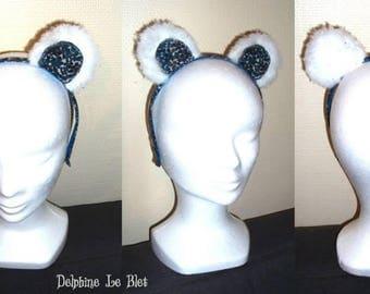 """The headband """"polar bear"""""""