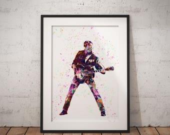 George Michaels - George Michaels Print - Music Poster - Faith - Digital Print - Digital Illustration - Wall Art - Digital Art - Colourful