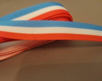 Ribbon grosgrain Ribbon 22mm red white blue